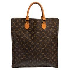 Louis Vuitton Monogram Canvas Sac Plat Bag