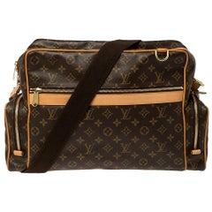 Louis Vuitton Monogram Canvas Sac Squash Bag