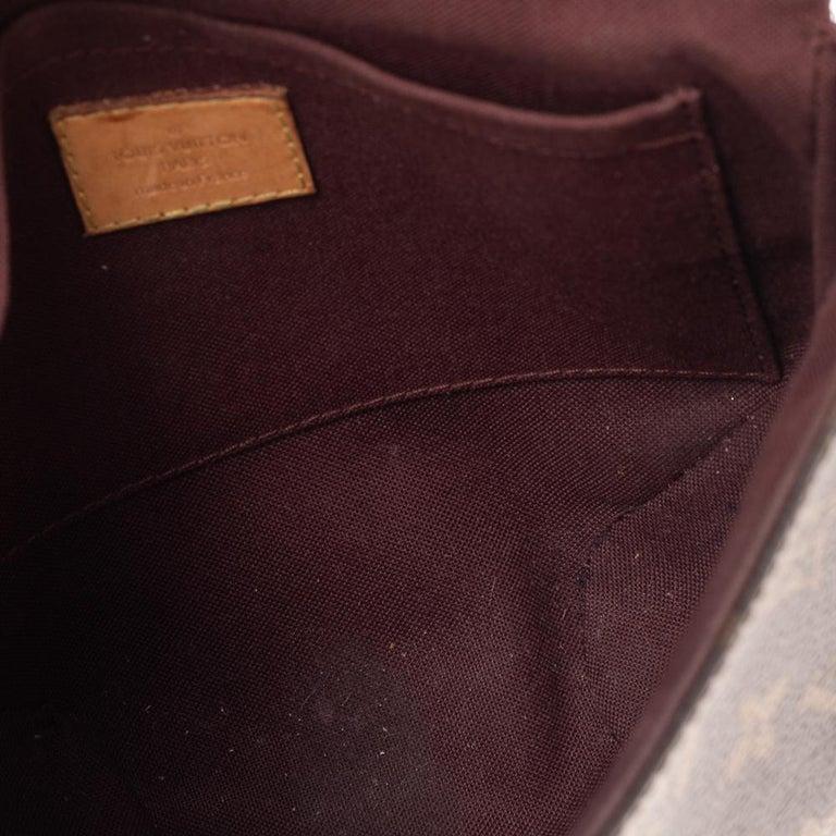 Louis Vuitton Monogram Canvas Saint Cloud Bag For Sale 6