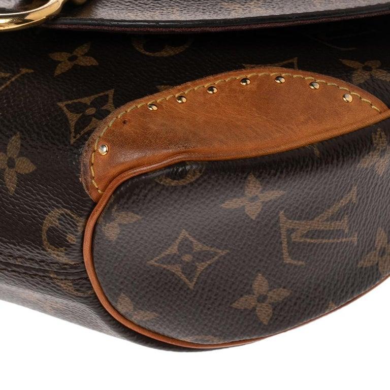 Louis Vuitton Monogram Canvas Saint Cloud Bag For Sale 1