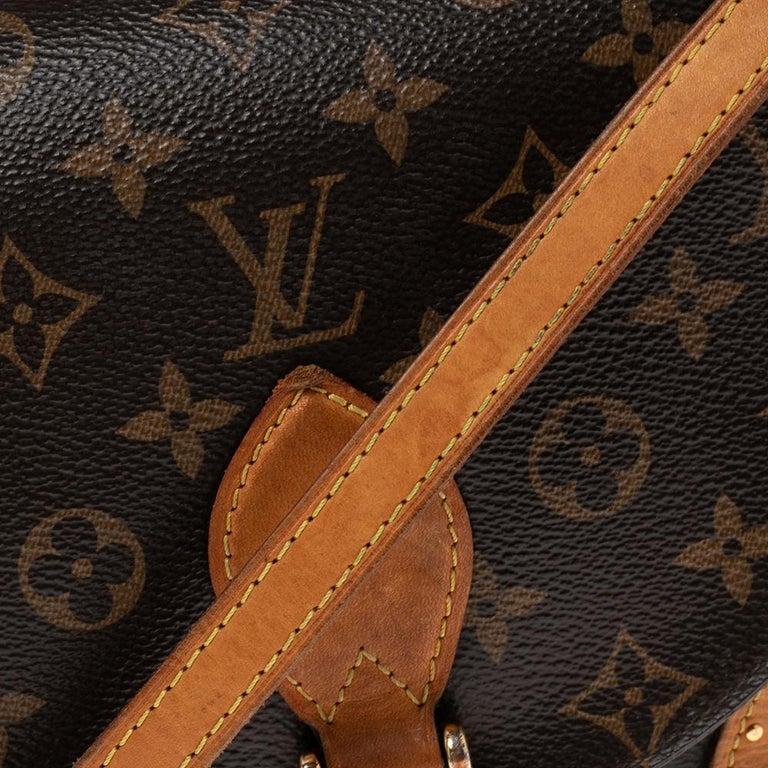 Louis Vuitton Monogram Canvas Saint Cloud Bag For Sale 4