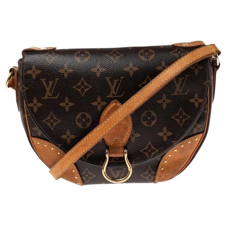 Louis Vuitton Monogram Canvas Saint Cloud Bag For Sale