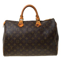 Louis Vuitton Monogram Canvas Speedy 35
