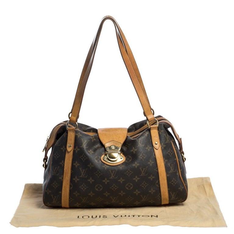 Louis Vuitton Monogram Canvas Stresa PM Bag For Sale 8