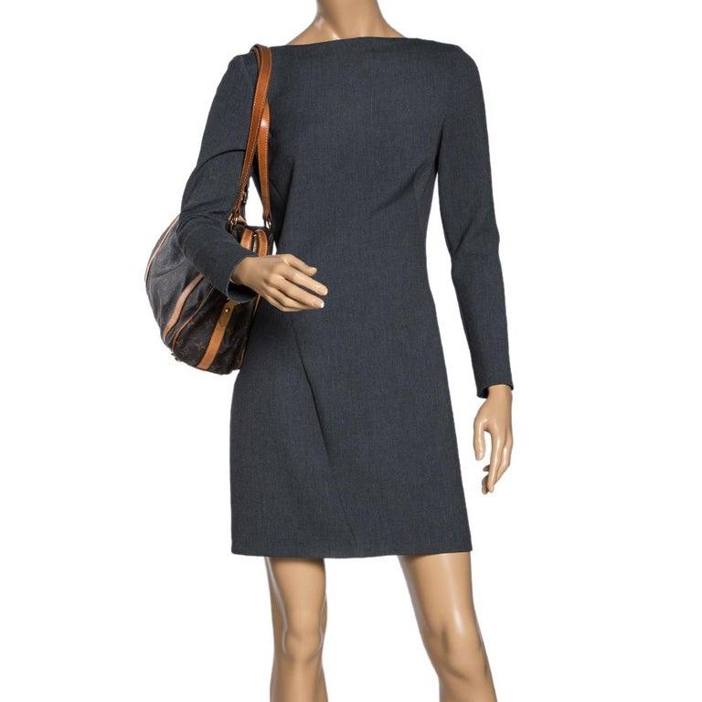 Louis Vuitton Monogram Canvas Stresa PM Bag In Fair Condition For Sale In Dubai, Al Qouz 2