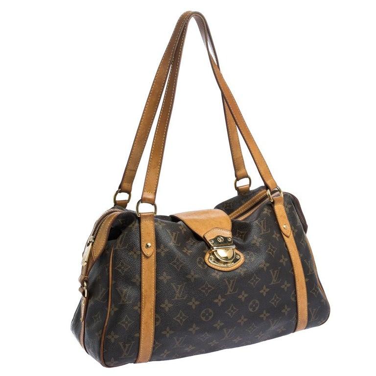 Women's Louis Vuitton Monogram Canvas Stresa PM Bag For Sale