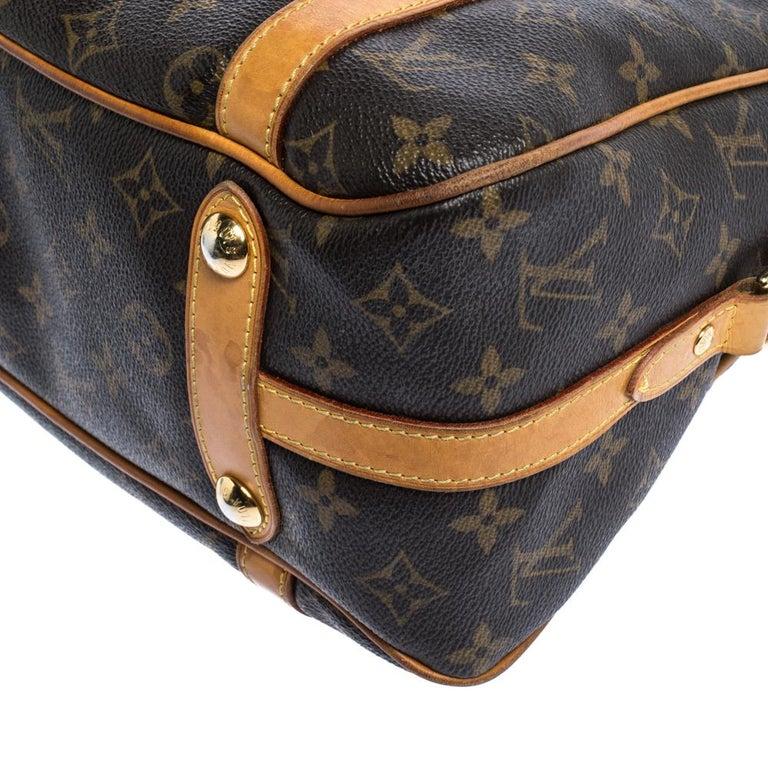 Louis Vuitton Monogram Canvas Stresa PM Bag For Sale 2