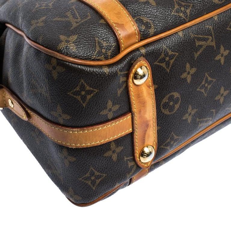 Louis Vuitton Monogram Canvas Stresa PM Bag For Sale 3