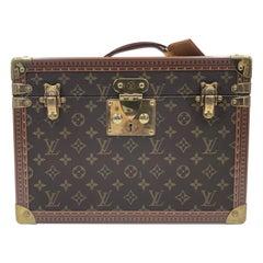 Louis Vuitton Monogram Canvas Train Case