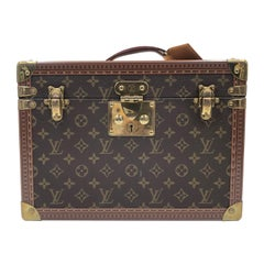 Louis Vuitton Monogram Canvas Train Case