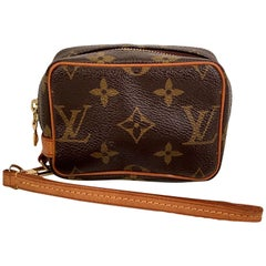 Louis Vuitton Monogram Canvas Trousse Wapity Mini Pouch Wrist Bag