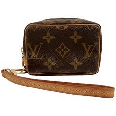 Louis Vuitton Monogram Canvas Trousse Wapity Mini Pouch Wrist Bag