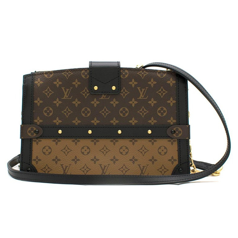 Louis Vuitton Monogram Canvas Trunk Clutch  In Good Condition For Sale In London, GB