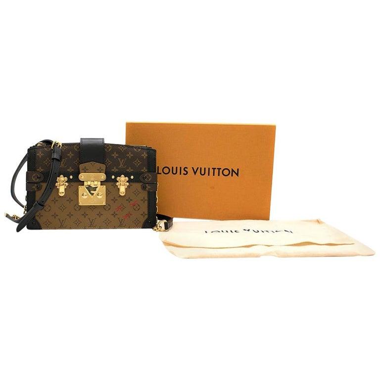 Louis Vuitton Monogram Canvas Trunk Clutch  For Sale