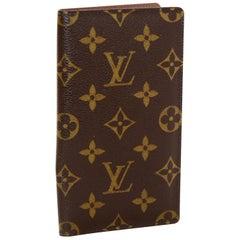 Louis Vuitton Monogram Checkbook Holder/ Wallet