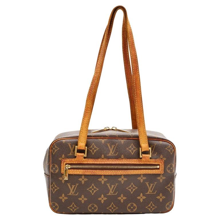 Louis Vuitton Monogram Cite Shoulder Bag (2002) For Sale