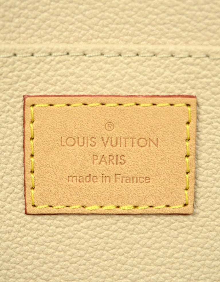 Louis Vuitton Monogram Coated Canvas Cosmetic Pouch Bag For Sale 1