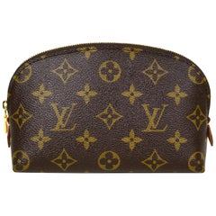 Louis Vuitton Monogram Coated Canvas Cosmetic Pouch Bag