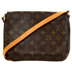 Louis Vuitton Monogram Coated Canvas Musette Tango Shoulder Bag