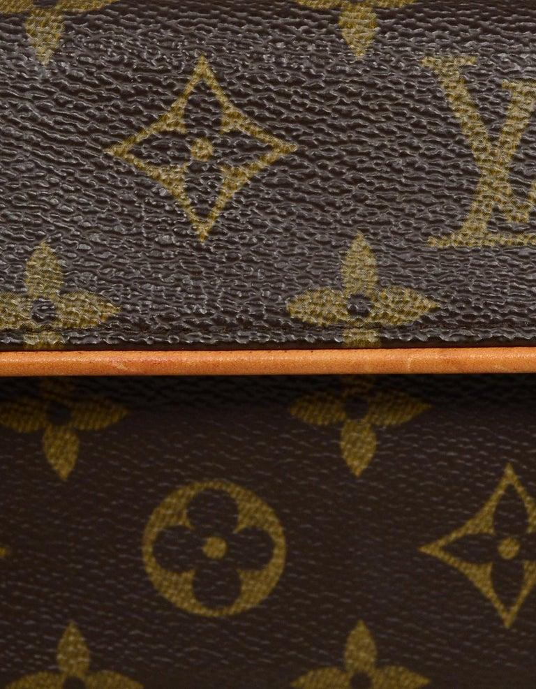 Louis Vuitton Monogram Coated Canvas Pochette Florentine Belt Bag 1