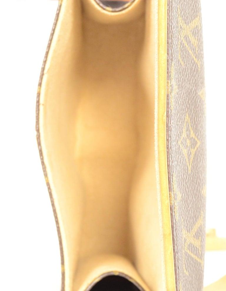 Louis Vuitton Monogram Coated Canvas Pochette Florentine Belt Bag 5