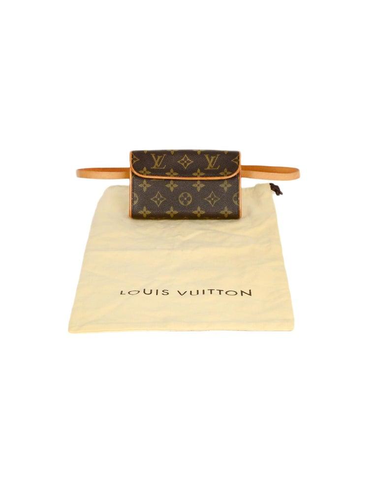 Louis Vuitton Monogram Coated Canvas Pochette Florentine Belt Bag 7