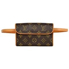 Louis Vuitton Monogram Coated Canvas Pochette Florentine Belt Bag