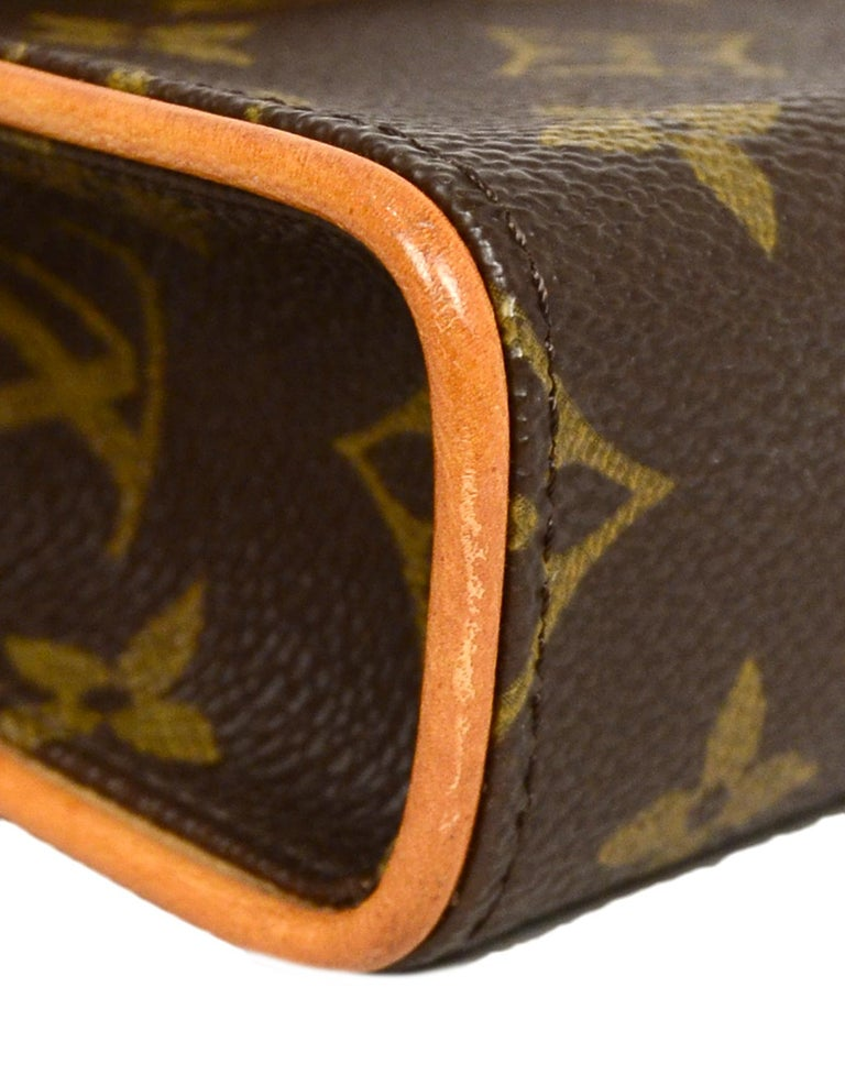 Louis Vuitton Monogram Coated Canvas Pochette Florentine Belt Bag 2
