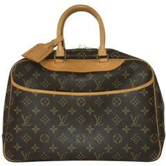 Louis Vuitton Monogram Deauville vachetta bag
