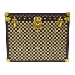 Louis Vuitton Monogram Deco Gold BrownDesk Table Paperweight Trunk in Box