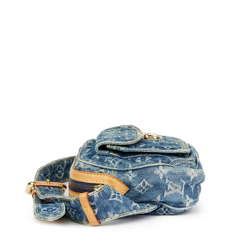 bea7baf3bef Louis Vuitton Monogram Denim Bum Bag