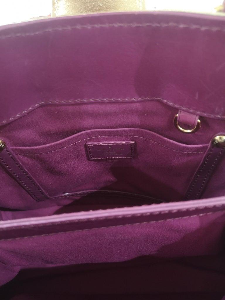 Louis Vuitton monogram denim fuchsia Linda Limited edizion bag For Sale 1