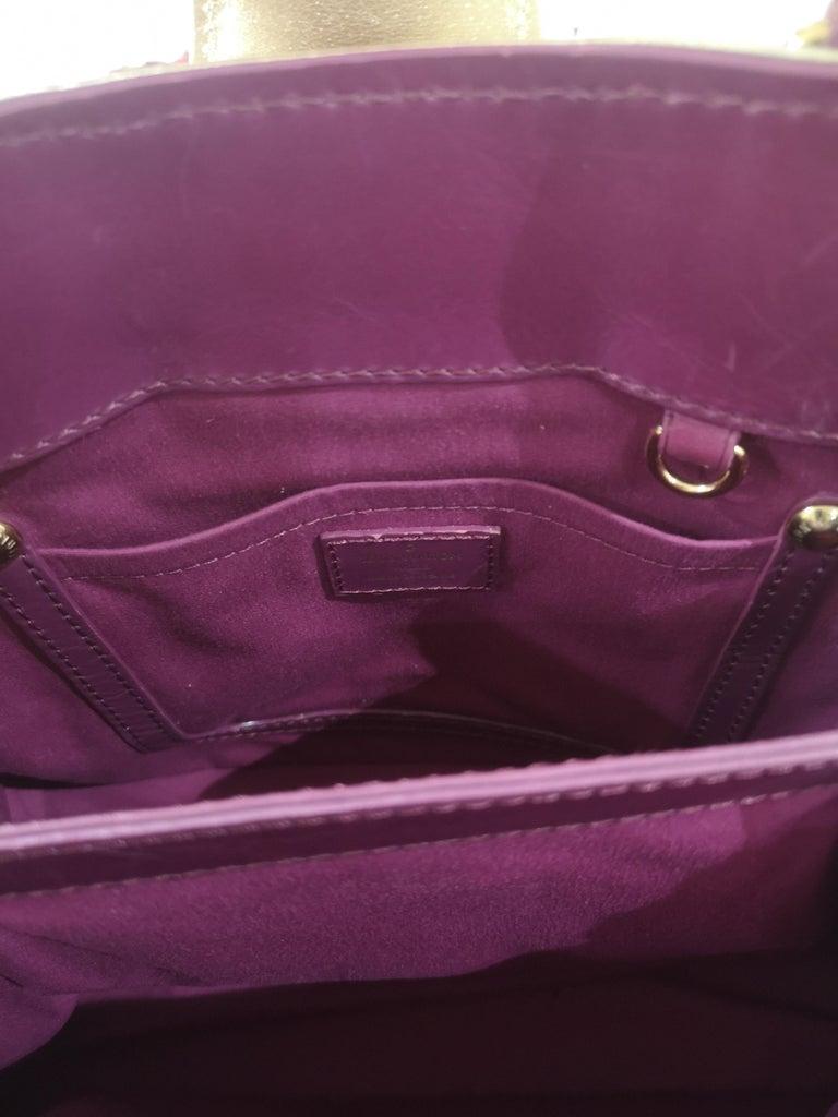 Louis Vuitton monogram denim fuchsia Linda Limited edizion bag For Sale 4