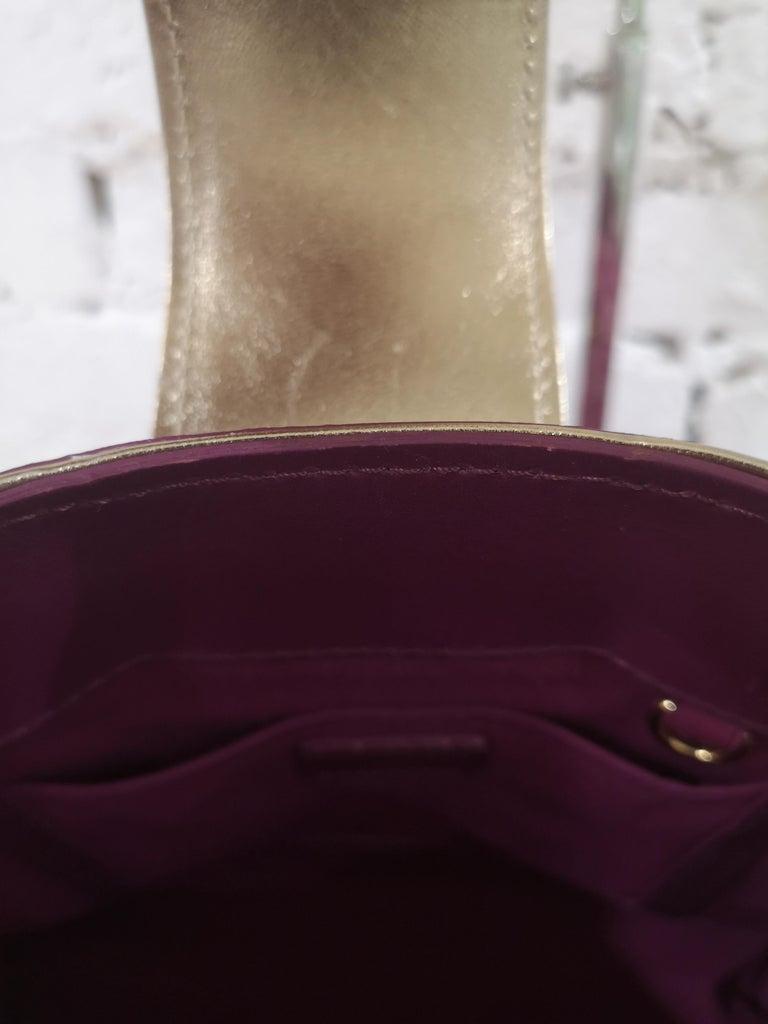 Louis Vuitton monogram denim fuchsia Linda Limited edizion bag For Sale 5
