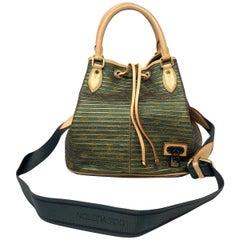 Louis Vuitton Monogram Eden Neo Khaki Green Shoulder Bag