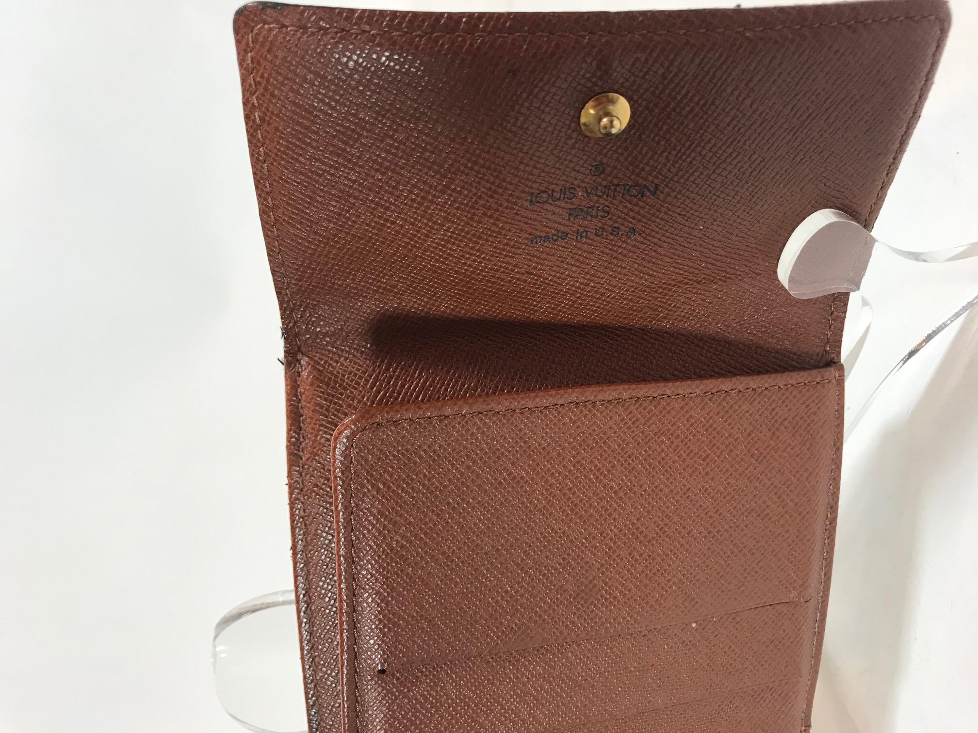 62e4cd3e90ce2 Louis Vuitton Monogram Elise Wallet For Sale at 1stdibs