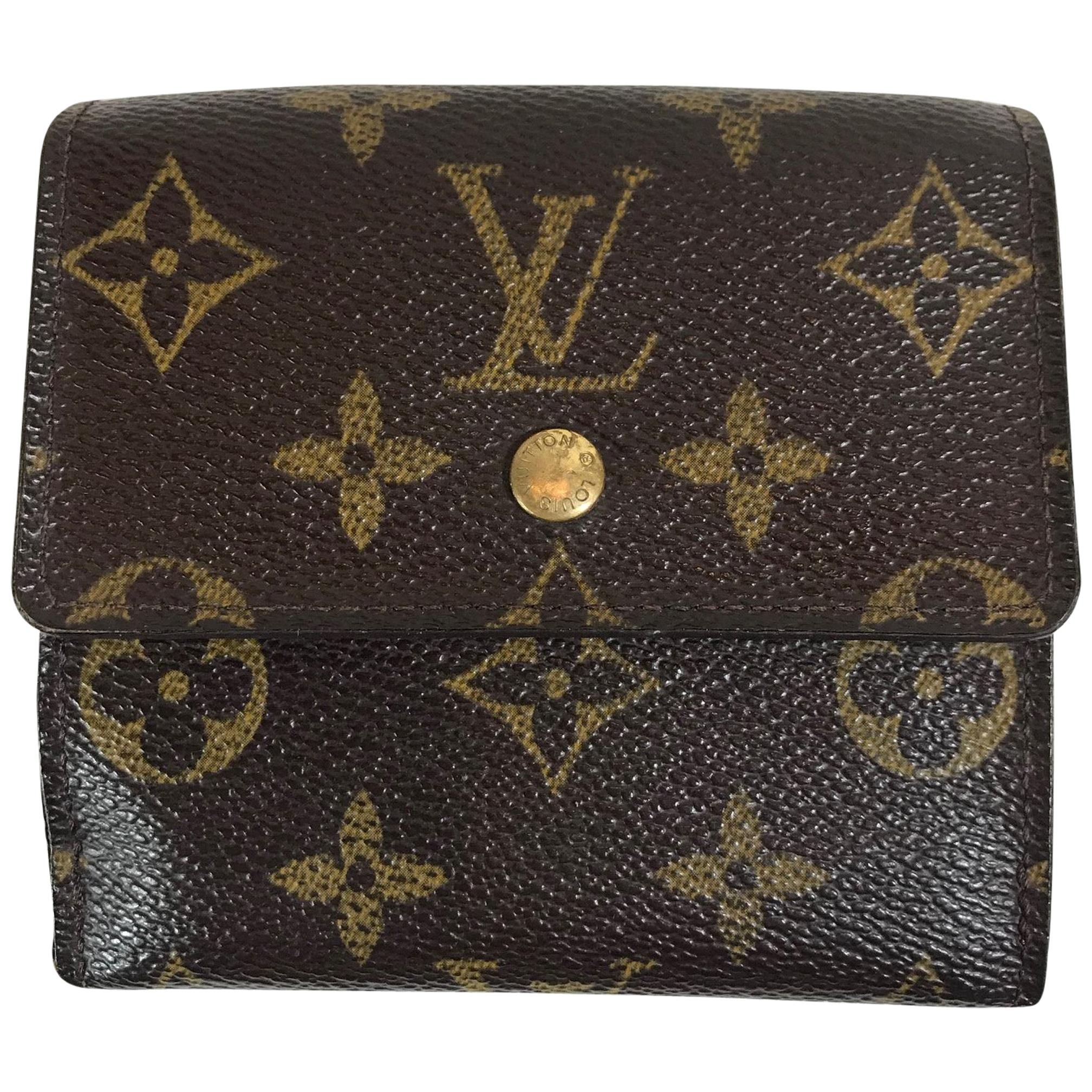Louis Vuitton Monogram Elise Wallet For Sale at 1stdibs 4678193af8e0c