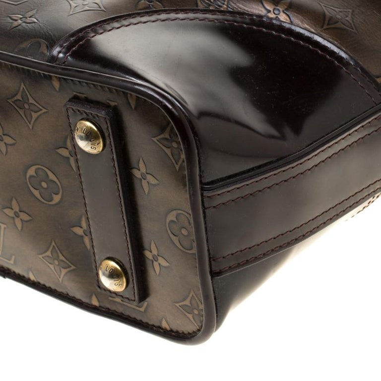 Louis Vuitton Monogram Embossed Leather Limited Edition Sergent GM Bag 5