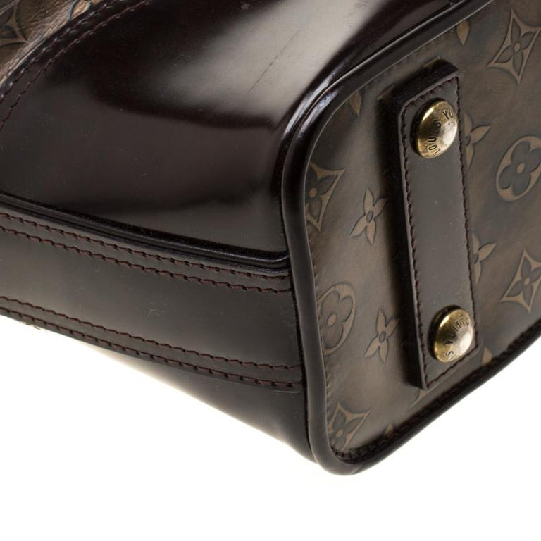 Louis Vuitton Monogram Embossed Leather Limited Edition Sergent GM Bag 6