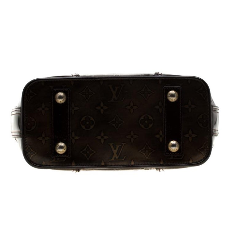 Women's Louis Vuitton Monogram Embossed Leather Limited Edition Sergent GM Bag