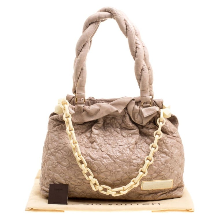 Louis Vuitton Monogram Embroidered Olympe Stratu Limited Edition GM Shoulder Bag For Sale 8