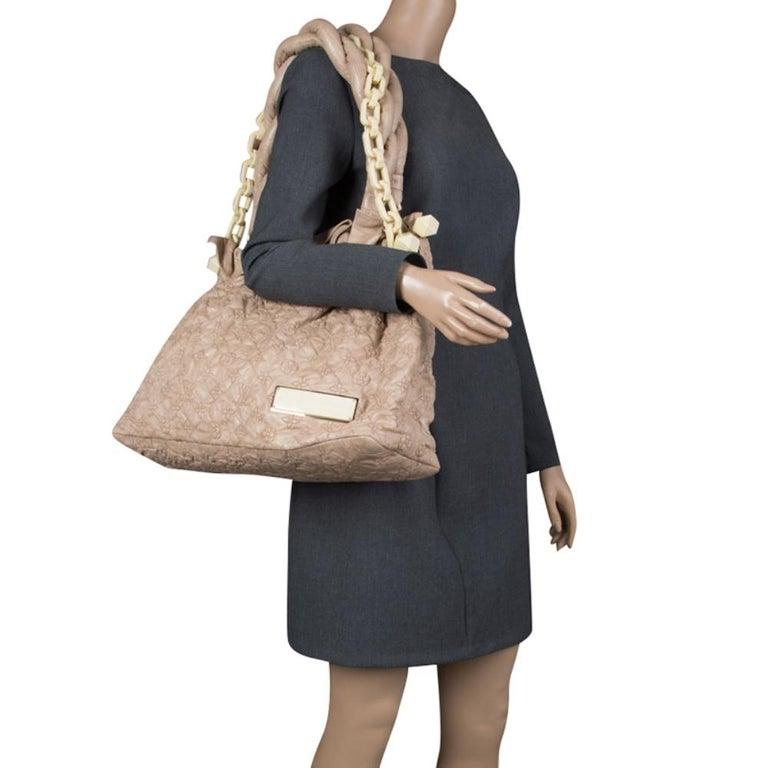 Louis Vuitton Monogram Embroidered Olympe Stratu Limited Edition GM Shoulder Bag In Good Condition For Sale In Dubai, Al Qouz 2