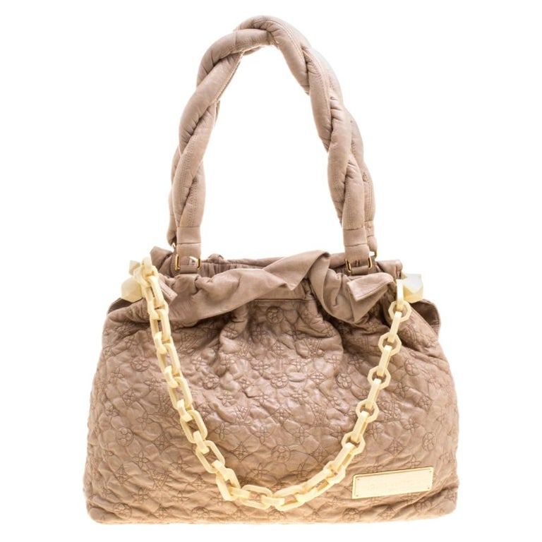 Louis Vuitton Monogram Embroidered Olympe Stratu Limited Edition GM Shoulder Bag For Sale