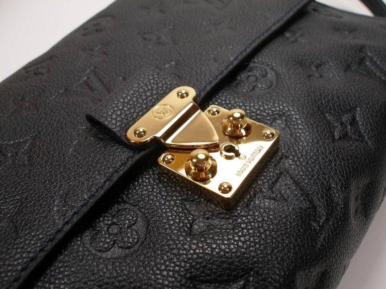 ed4f10f2975a Louis Vuitton Monogram Empreinte Fascinante Blue Dark Shoulder Bag In New  Condition For Sale In VERGT