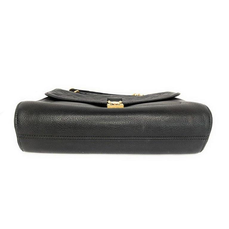 Women's Louis Vuitton Monogram Empreinte Saint Germain MM Shoulder Bag For Sale