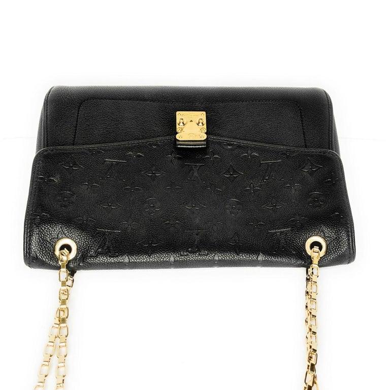 Louis Vuitton Monogram Empreinte Saint Germain MM Shoulder Bag For Sale 1
