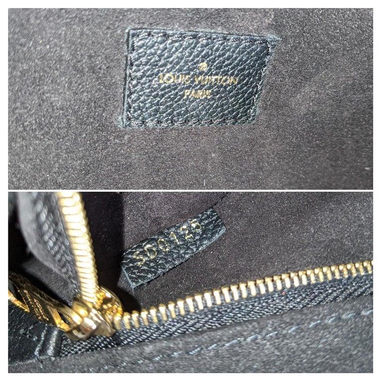 Louis Vuitton Monogram Empreinte Saint Germain MM Shoulder Bag For Sale 3