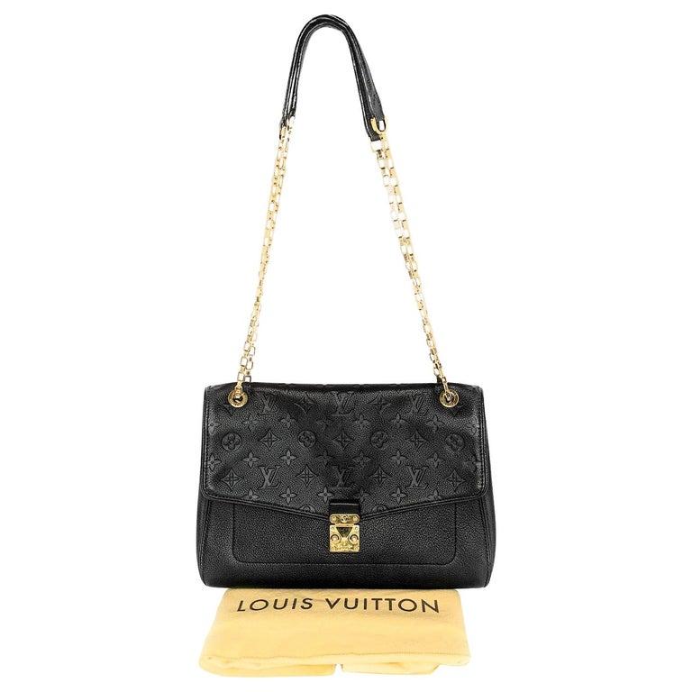 Louis Vuitton Monogram Empreinte Saint Germain MM Shoulder Bag For Sale