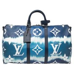 Louis Vuitton Monogram Escale Keepall Bandoulière 50 Bag