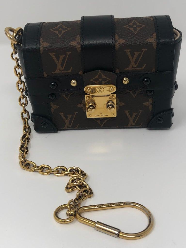 Louis Vuitton Monogram Essential Trunk Black At 1stdibs